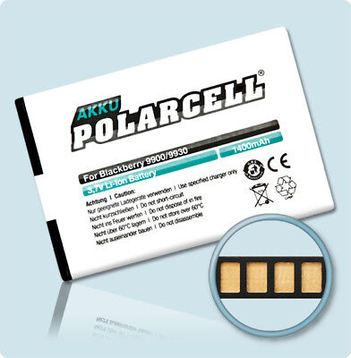 PolarCell Akku für BlackBerry Bold 9900 9930 9790 Curve 9380 JM1 Batterie Accu Blackberry Curve Batterien