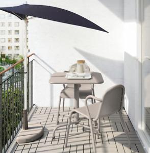 Table et chaises extérieures Ikea (Tunholmen)