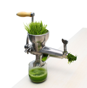 Wheat Grass Juicer Hand Manual Wheatgrass Fruit Juice; Postage $5 Wynnum Brisbane South East Preview