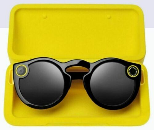 Snapchat Spectacles Glasses Black  BRAND NEW Unused