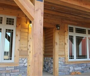 6x6 4x4 cedar lumber deck dock or fence posts