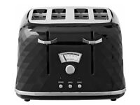 De'longhi Kettle & Toaster Set Diamond Pattern, Excellent Condition £60 for set