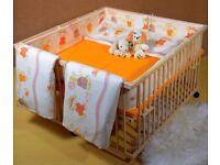 Twin cot / playpen