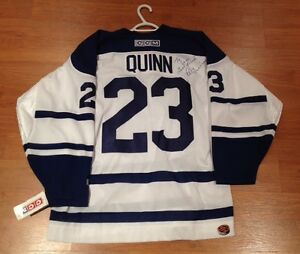 Pat Quinn Signed Toronto Maple Leafs Jersey - New With Tags