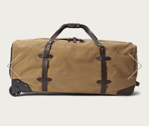 XL tan Filson duffle bag  - $500 OBO