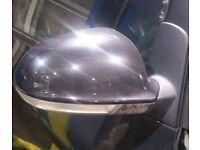 VW Sharan O/S Wing Mirror In Black (2005)