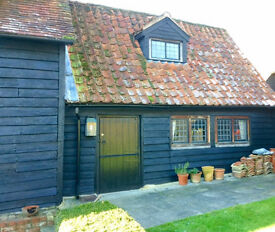 1 bedroomed cottage in rural setting.