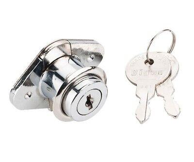 2 Pack 78 Keyed Alike Locks Keys Desk Drawer Mailbox Office Cabinet Chrome