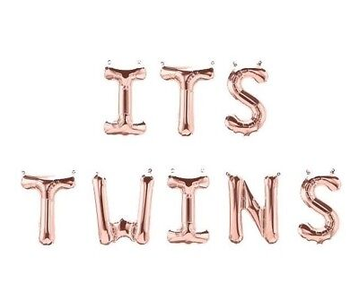 ITS TWINS Letter Balloons - 16