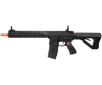 G&G Combat Machine CM16 SRXL KeyMod M4 AEG Airsoft Gun w/ ETU - Black / COMBO for sale  Duarte