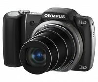 "Olympus SZ-10 (14 MP 18x WIDE ZOOM 3.0"" HIGH RES LCD 720p HD VI)"
