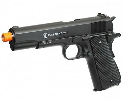 Elite Force Full Metal 1911 A1 Co2 Gas Blowback Airsoft Pistol Black 2279314