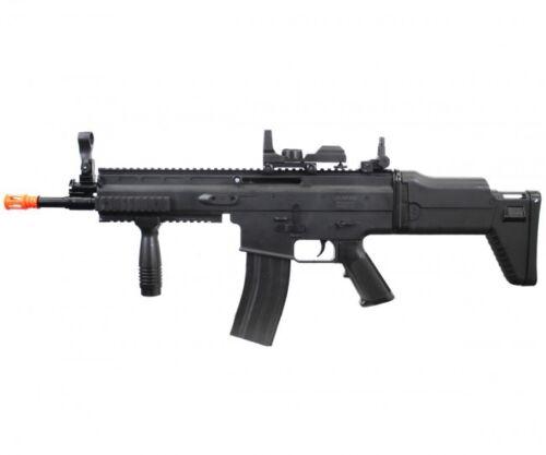 UKARMS SCAR-L MK16 Spring Gun Airsoft Rifle w/ Sight & Vertical Grip P8902