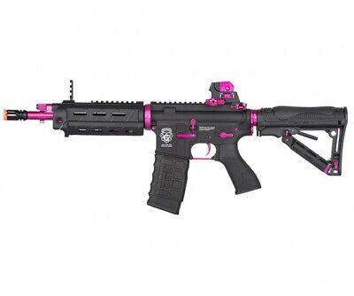 G&G GR4 G26 CQB 'Femme Fatale' Electric Blowback AEG Airsoft Rifle - Black