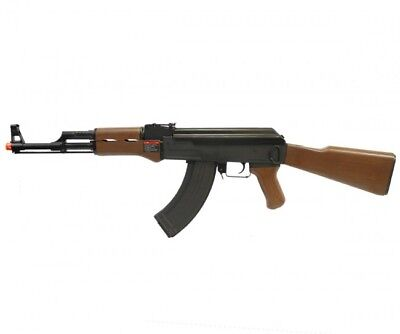 G&G Combat Machine RK47 Airsoft Gun AK47 AEG Rifle Replica Imitation Wood for sale  Duarte