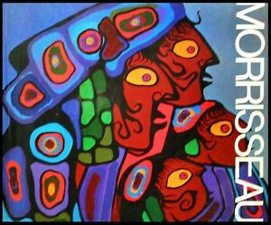 The Art of Norval Morrisseau -1979 Hardcover Book