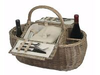 Brand new 4 person boat picnic basket- bought for £95