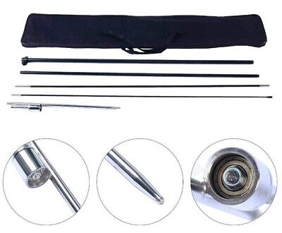 New Hardware 13ft. Pole Kit For Feather Flags Measuring For 10 To 12ft. W Spike
