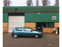 LIGHT INDUSTRIAL COMMERCIAL WAREHOUSE TO LET - NEAR A312/A40/M4/M25