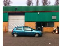 LIGHT INDUSTRIAL WAREHOUSE TO LET - BARRATT INDUSTRIAL ESTATE - NEAR A312/A40/M4/M25