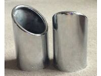 Genuine Audi Q7 exhaust tips