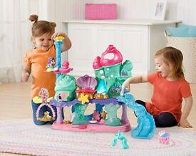 VTech interactive mermaid seashell Castle. Large Playset. Girl toy.