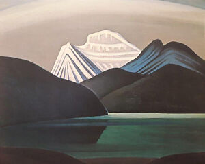 """Lawren Harris """"Lake and Mountain"""" Limited Edition print"""
