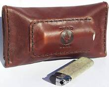 BROWN LEATHER TOBACCO POUCH  HANDMADE BY DEADSKIN Chelsea Kingston Area Preview