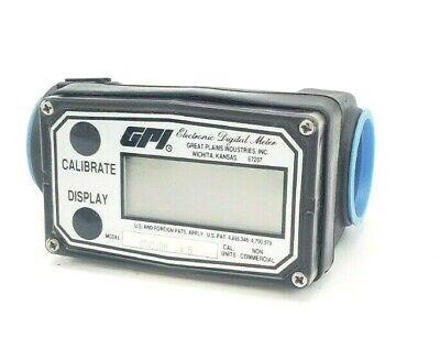 Gpi Model 03v31gm Electronic Digital Flow Meter 03v31gm5