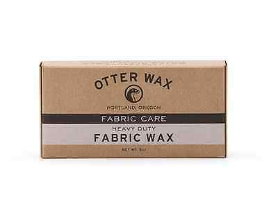 Otter Wax Fabric & Canvas Wax | Large Bar | All-Natural Water Repellent | USA