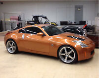 2003 Nissan 350z modified