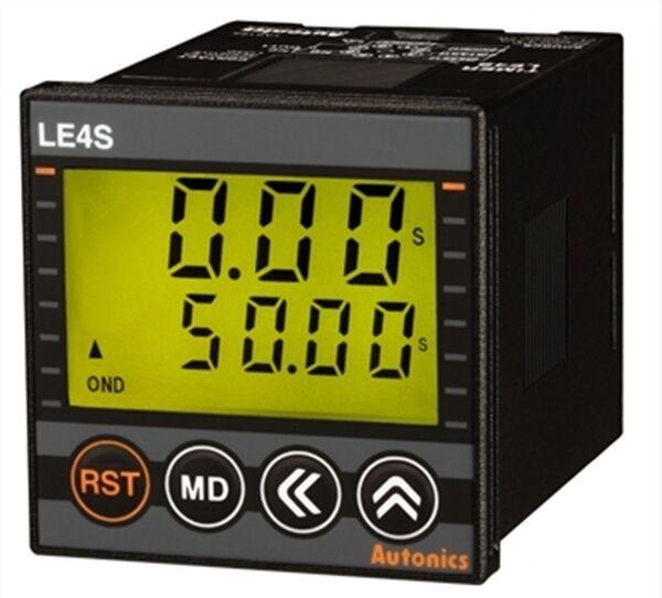LE4S и LE4SA - компактные цифровые таймеры с ЖК-дисплеем и подсветкой - Новости