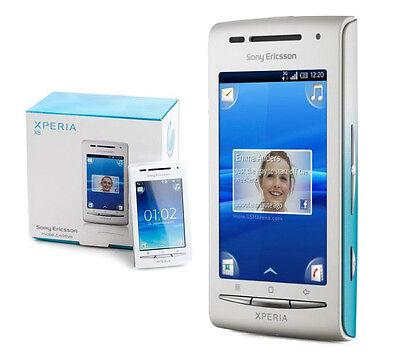 Smartphone Sony-Ericsson XPERIA X8 E15i White Blue - Android - WLAN -...