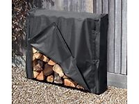 1m Log Store/Cover Outdoor Garden Log Storage Unit RRP £55 - used for 2 weeks. packaging included.