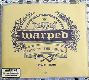 Australian Hard Rock - Warped - This Is The Sound EP CD 2002 JG1 Blacktown Area Preview