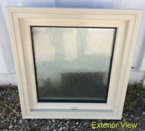 "New Fixed Picture Sandstone Window – 20 ½"" x 22"""