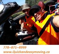 QUICK AND EASY MOVING LTD///VANCOUVER TO KAMLOOPS