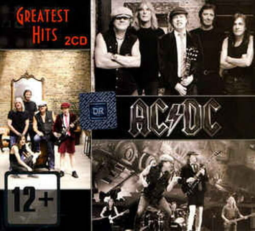 Ac/dc Greatest Hits Music Collection 2cd