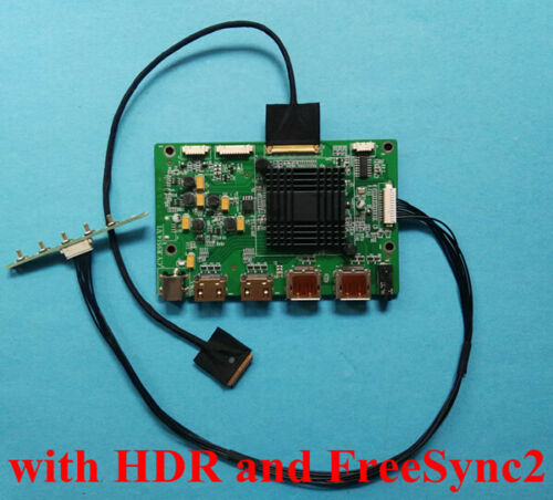 "HDR FreeSync2 HDMI DP Board for 4K 15.6"" 3840x2160 NV156QUM-N81 LP156UD3-SPE1"