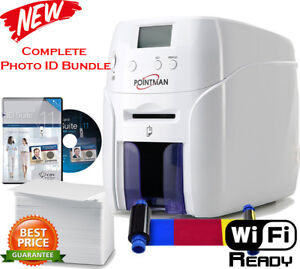 New Photo ID card printing Bundle - Nuvia 10 card printer