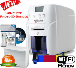 New Complete Photo ID card printing system - Nuvia10