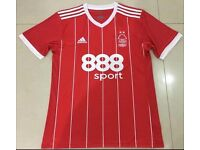 2017-18 Nottingham Forest home red football soccer jersey shirt