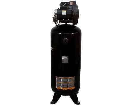 60 Gallon Stationary Electric Air Compressor Garage Industrial Vertical Steel