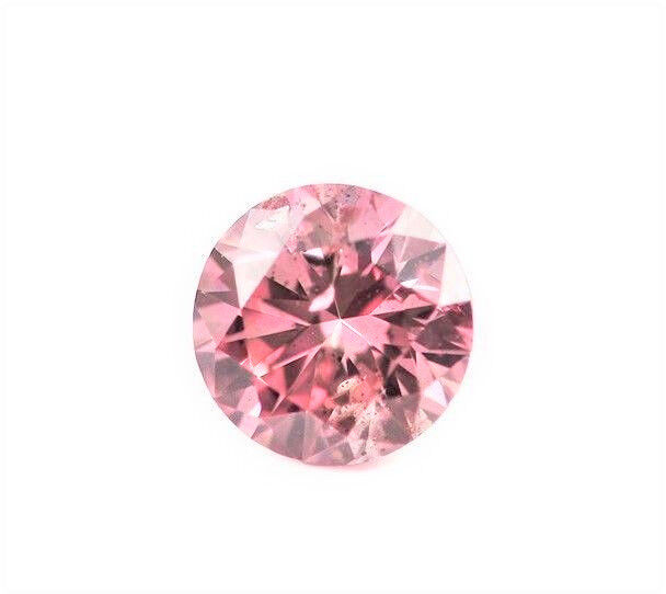 Real 0.16ct Natural Loose Fancy Purple Pink Color Diamond GIA Round Argyle