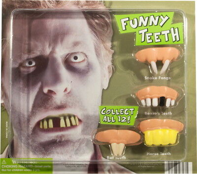 10 FUNNY TEETH, GREAT TOY, GOODY BAGS, CARNIVAL, PINATA, PARTY FAVORS, COSTUME - Carnival Pinata