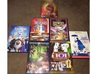 7 Disney Dvds for £6