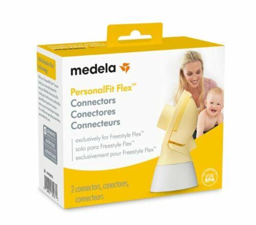Medela PersonalFit Flex Connectors Set - 2 Connectors Per Box - Seal NIB