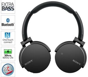 SONY EXTRA BASS Bluetooth Headphones with Microphone