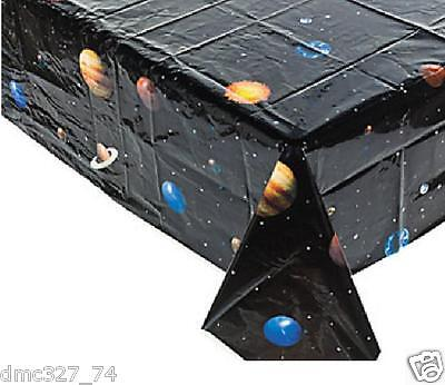 1 OUTER SPACE Solar System Birthday Party Decoration TABLE COVER Tablecover (Solar System Decorations)