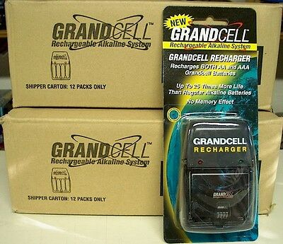 Sixteen 1.5v Ram Grandcell Alkaline Battery Chargers - Juice Igo Pure Energy